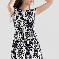 KATELLA PRINTED DRESS