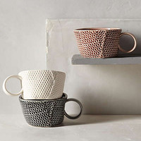 Honeycomb Mug by Anthropologie
