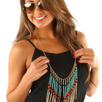Thinkin' Out Loud Necklace: Multi