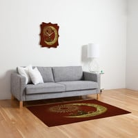 Eric Fan Moon Travel Woven Rug