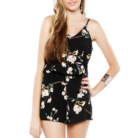 Papaya Clothing Online :: V-NECK FLORAL ROMPER