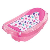 Summer Infant Sparkle N Splash 3 Stage Infant to Toddler Tub - Pink