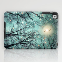 Nature Blazes Before Your Eyes (Remix: Mint Embers) iPad Case by soaring anchor designs ⚓ | Society6