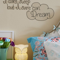 Sleep Dream Wall Decal