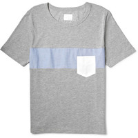 Band of Outsiders - Paneled Cotton-Jersey T-Shirt | MR PORTER