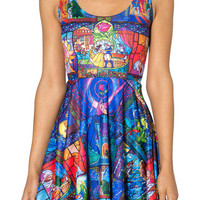 Tale As Old As Time Scoop Skater Dress