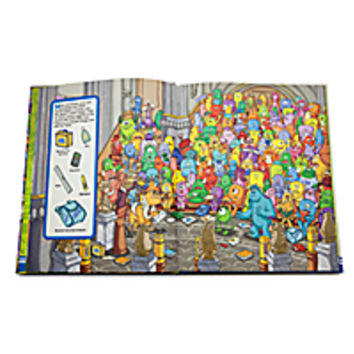 Monsters University Look and Find Book