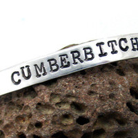 Cumberbitch - Hand Stamped Bracelet for Future Mrs.Benedict Cumberbatches | foxwise