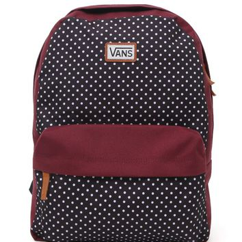 Vans Deana II Dots School Backpack - Womens Backpack - Black - One