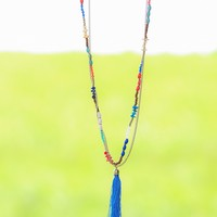 Up For Adventure Necklace-Royal