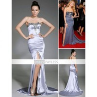 Blake Lively Trumpet/Mermaid Sweetheart Elastic Silk-like Satin Evening/Prom/Gossip Girl Fashion sexy Dress (TEDXL005) [TEDXL005] - $113.29 :