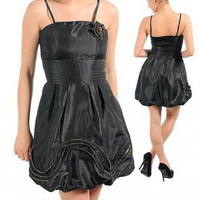 Bunched bottom dress-Club-club dresses, night club dresses, clubwear, sexy club wear, womens clubwear, evening dress