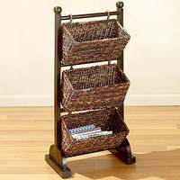 Madras 3-Tier Cubby |Storage Baskets and Storage Cubes | World Market