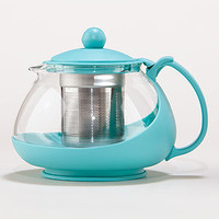 Aqua Glass Teapot Infuser | Tea Time | World Market