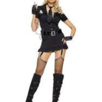 Sexy Black Police Costume - Prices & Buy at ShopSimple.com