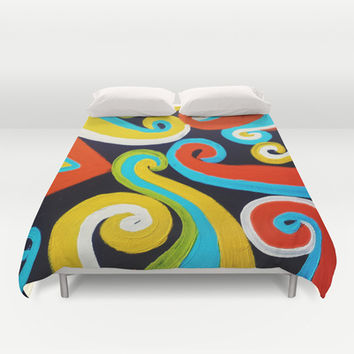 Inward Duvet Cover by DuckyB (Brandi)