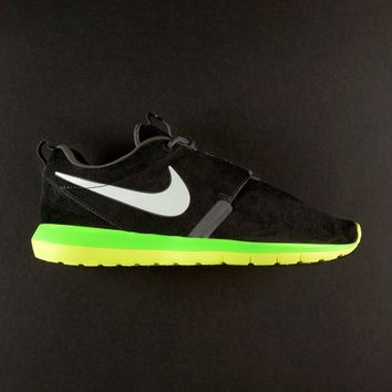 Nike Roshe Run NM Black/Volt | SWGNT