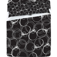 DENY Designs Home Accessories | Rachael Taylor Circles 1 Sheet Set