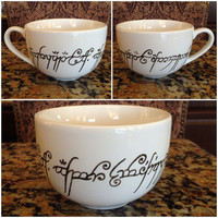 Lord of the Rings Cappuccino Mug