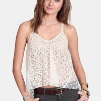 Desert Hot Spring Embroidered Tank