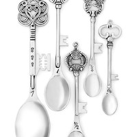 ModCloth Vintage Inspired, French Key to the Recipe Measuring Spoon Set