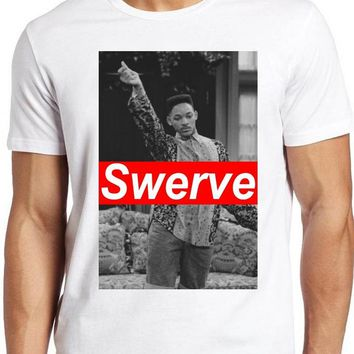 Swerve Tee Dope Swagg Fresh Prince 90's Hipster Will Smith T-Shirt Unisex Men Women