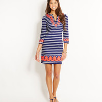 Shop Dresses: Border Print Tunic Dress for Women | Vineyard Vines