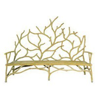 Currey & Company Elwynn Bench, Large - Seating: Benches - Modenus Catalog