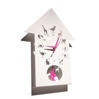 Westergaard Designs Animalask Clock - Decorative Accessories - Modenus Catalog