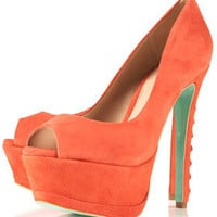 **CJG Stud Back Peeptoe Court Shoes by CJG - CJG  - Designers  - Topshop