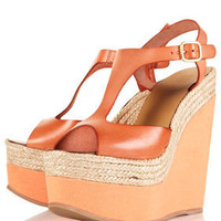 WHAMM Espadrille Leather Wedges - Heels  - Shoes  - Topshop