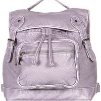 Large Washed Backpack - Backpacks - Bags & Wallets  - Accessories - Topshop USA