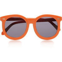 Finds | Karen Walker round-frame acetate sunglasses | NET-A-PORTER.COM