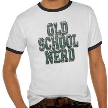 Old School Nerd Green
