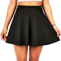 Classic Skater Skirt | Trendy Clothes at Pink Ice