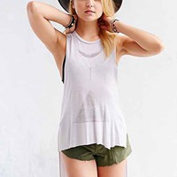 Truly Madly Deeply Extreme High/Low Muscle Tee - Urban Outfitters