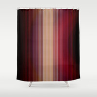 Geometric 10 Shower Curtain by VanessaGF