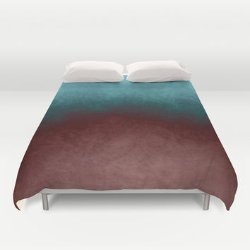 abstract texture Duvet Cover by VanessaGF