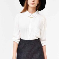 Silence + Noise Peek-A-Boo Mini Skirt - Urban Outfitters