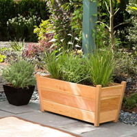 Western Cedar Planter (Rectangular) - Accessories at Jackson and Perkins