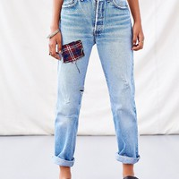 Urban Renewal Flannel Patch Jean - Urban Outfitters