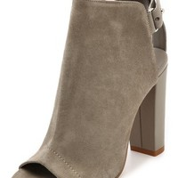 Addison Peep Toe Booties