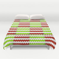 square chevron Duvet Cover by  Alexia Miles photography