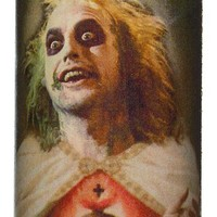SAINT BEETLEJUICE PRAYER CANDLE RED