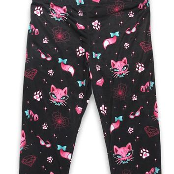 Miss Kitty Kids Legging | Blame Betty