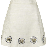 **IVORY GOLD SUN SKIRT BY SISTER JANE