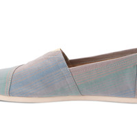 Blue Summer Stripes Women's Classics