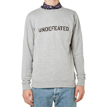 Undefeated Block Basic Pullover Crew