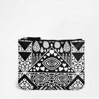 Monki | Monki Printed Cajsa Pouch at ASOS