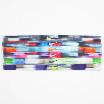 Nike 6 Pack Tie Dye Headbands Assorted One Size For Women 24258295001